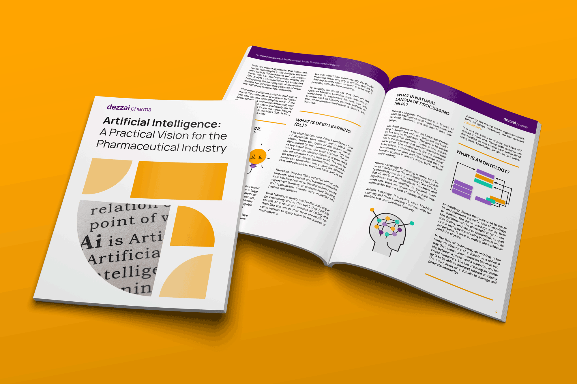Practical guide of artificial intelligence for the pharma industry